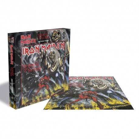 Puzzle Iron Maiden - Number of the beast